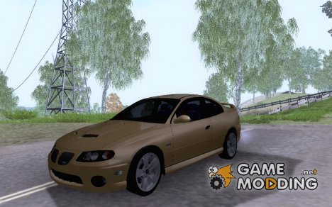 2005 Pontiac GTO (Update) for GTA San Andreas