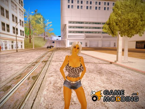 Gina Redo for GTA San Andreas