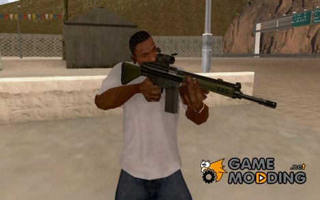 H&K G3a3 with Aimpoint for GTA San Andreas