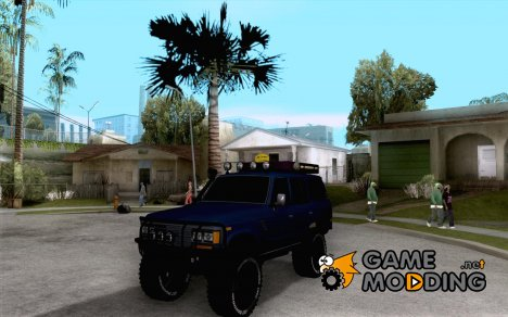 Toyota Land Cruiser 70 1993 Off Road Samurai для GTA San Andreas