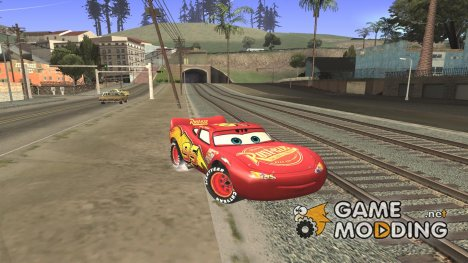 Lightning McQueen for GTA San Andreas