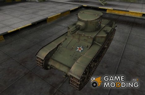 Шкурка для T1E6 for World of Tanks
