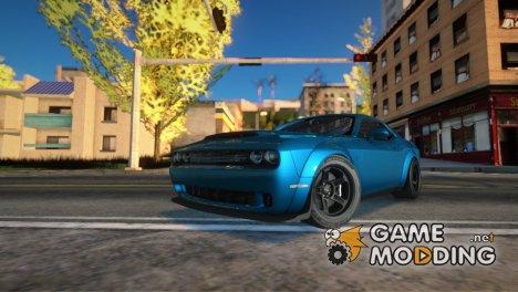 2018 Dodge Challenger SRT Demon for GTA San Andreas
