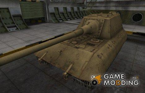 Пустынный скин для танка JagdPz E-100 for World of Tanks
