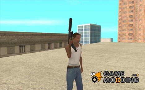 MP5A4 Silenced для GTA San Andreas