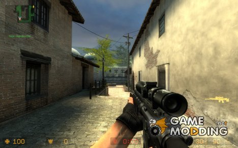 SR-M16 for Counter-Strike Source