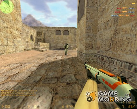 XM1014 Asiimov для Counter-Strike 1.6