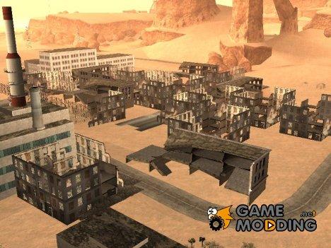 Мёртвый город в пустыне for GTA San Andreas