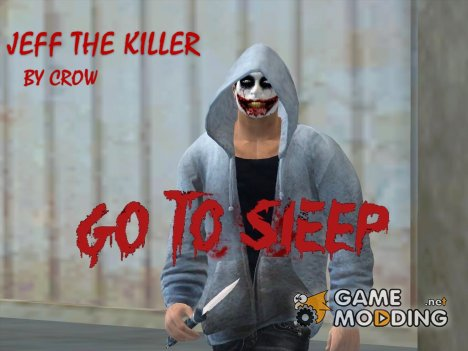"Jeff the Killer ""Creepy CLEO Mod"" для GTA San Andreas"