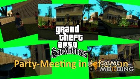 Вечеринка в Джефферсон для GTA San Andreas