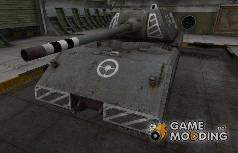 Зоны пробития контурные для Maus for World of Tanks