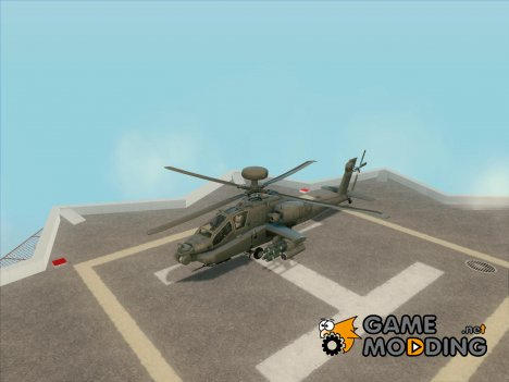 AH-64D Longbow Apache for GTA San Andreas