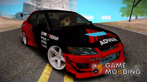 Mitsubishi Lancer Turkis Drift Advan for GTA San Andreas