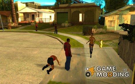 VozmFromGTAIV (НОВАЯ ВОЗМОЖНОСТЬ ИЗ GTA IV В SAN ANDREAS) for GTA San Andreas