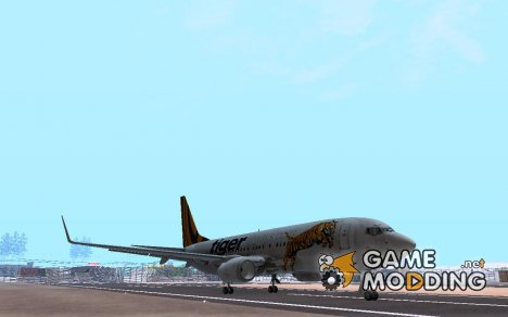 Boeing 737-800 Tiger Airways для GTA San Andreas