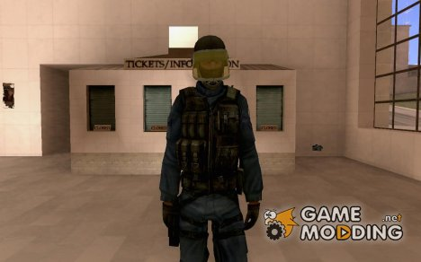 Gign из контр страйк for GTA San Andreas
