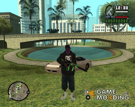 Pack Gang для GTA San Andreas