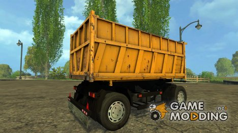 Прицеп для МАЗ 5516 для Farming Simulator 2015
