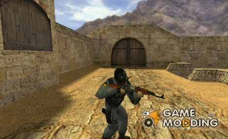 Black Mesa SAS для Counter-Strike 1.6