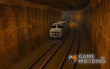 Новый алгоритм движения поездов 5 for GTA San Andreas