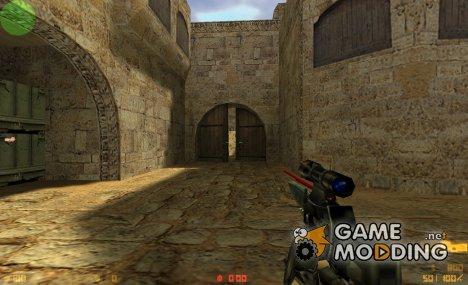 P90 hand gun для Counter-Strike 1.6