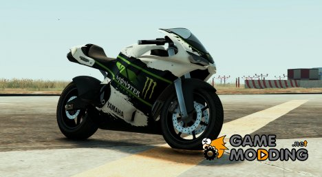 Yamaha R1 - Monster Energy (Bati) for GTA 5