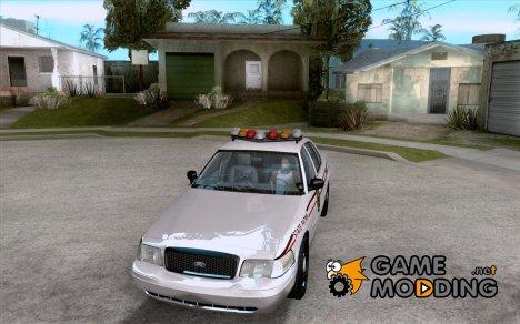 Ford Crown Victoria North Dakota Police для GTA San Andreas