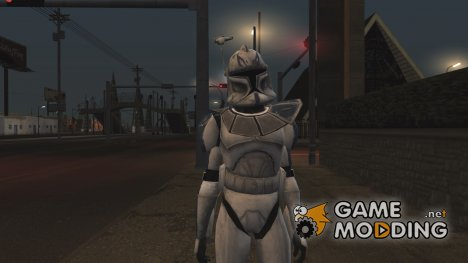 Kapitan Rex from star wars clone wars для GTA San Andreas