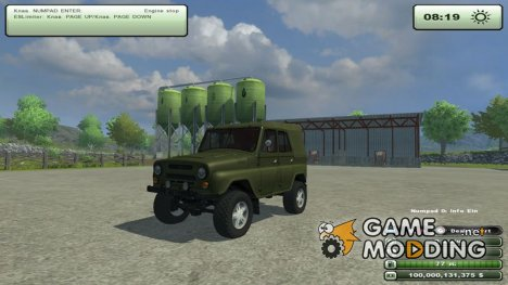 УАЗ 469 v1.0 для Farming Simulator 2013