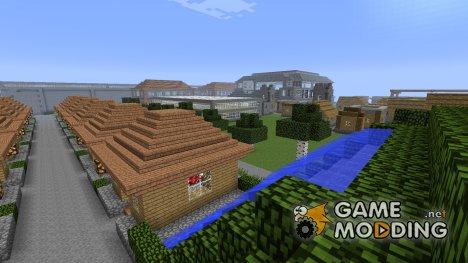 Город механизмов для Minecraft