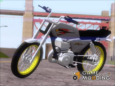 Suzuki AX 100 Stunt for GTA San Andreas