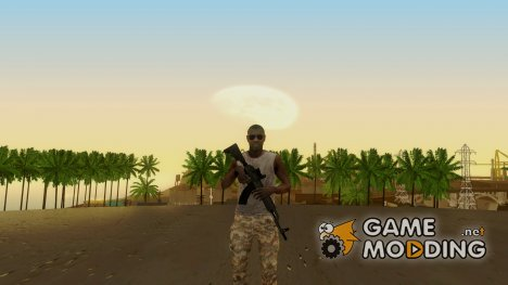 CoD MW3 Africa Militia v5 for GTA San Andreas