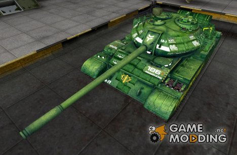 Ремоделинг для Type 59 с шкуркой для World of Tanks