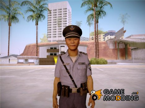 Japanese Policeman for GTA San Andreas