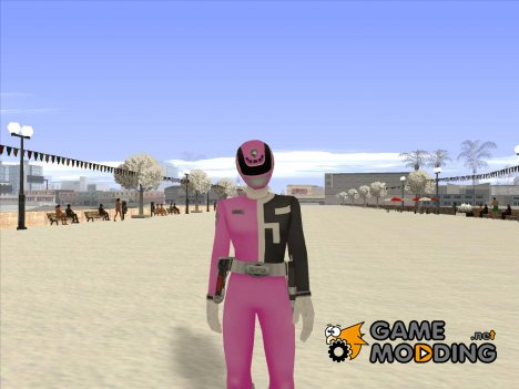 Power Rangers RPM Pink для GTA San Andreas