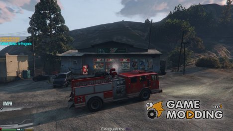 Работа в пожарной службе v1.0-RC1 для GTA 5