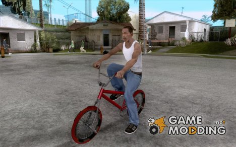 Zero's BMX RED tires for GTA San Andreas