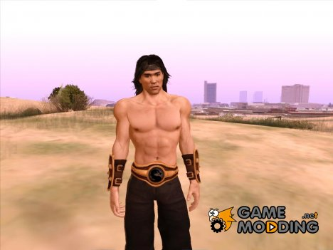 Liu Kang (MK vs DCU) for GTA San Andreas
