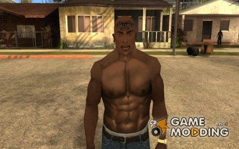 Bald tatoo for GTA San Andreas
