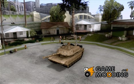 M1A2 Abrams из Battlefield 3 для GTA San Andreas