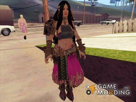 Aisha from Renaissance Heroes for GTA San Andreas