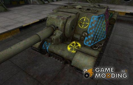 Качественные зоны пробития для ИСУ-152 для World of Tanks