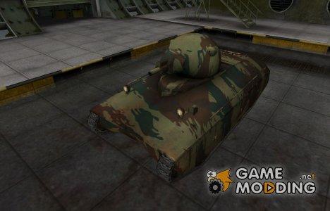 Французкий новый скин для AMX 40 для World of Tanks