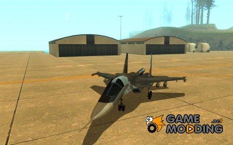 Су-34 для GTA San Andreas