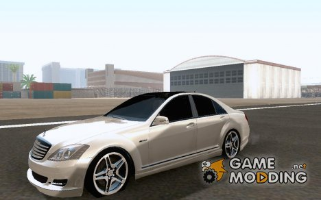 2011 Mercedes Benz S65 AMG for GTA San Andreas