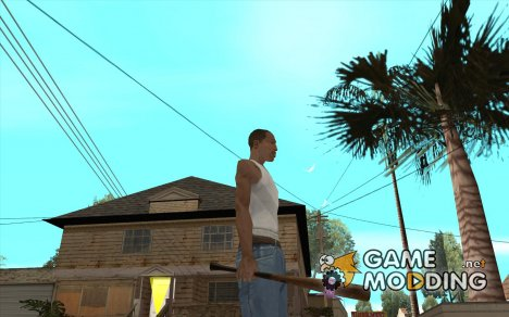 Бита для скин-пака The Ballas Gang for GTA San Andreas