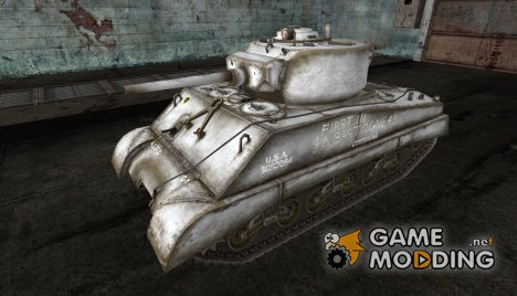 Шкурка для M4A3E2 для World of Tanks