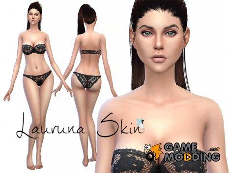 Lauruna Skin for Sims 4