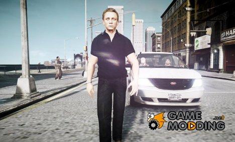 Скин Джеймса Бонда for GTA 4
