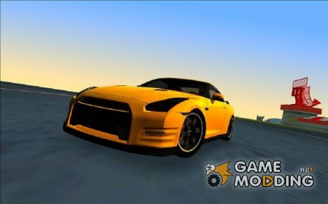 Nissan GTR R35 Egoist for GTA Vice City